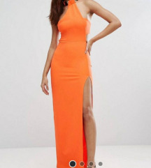 Asos narancasta haljina