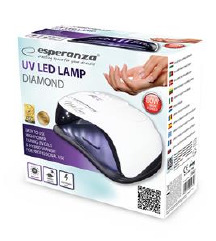 UV LED LAMPA ZA NOKTE ESPERANZA DIAMOND 80W- NOVO!