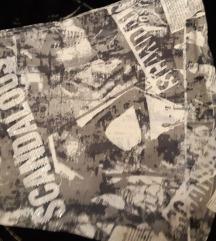 Sarena majca print novine