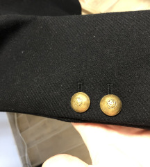 Zarin kaputic s zlatnim gumbima/M