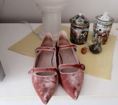 LODI baršun prava koža niske cipele