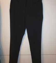 MANGO crne basic poslovne hlače