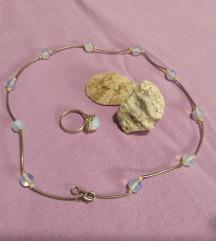 Ogrlica i prsten mjesečev kamen
