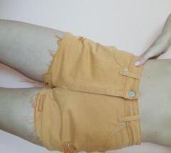 M&S kratke žute hlačice M