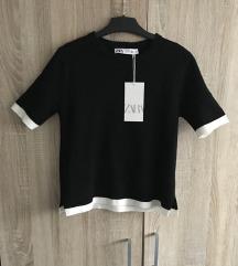 Zara crna majica (ukljuceni pt)