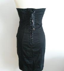 new yorker crna korzet haljina