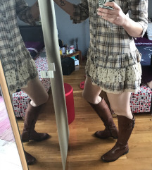 BWNY jeans cowboy haljina s volanima