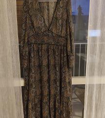Zara midi/duga haljina xl 200kn s pt.