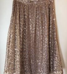 Šljokičasta suknja