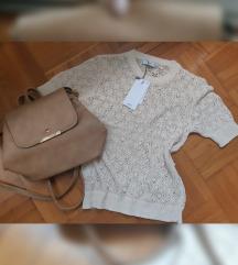 Lot Mango majica S i ruksak