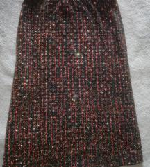 Elasticna suknja sljokicasta