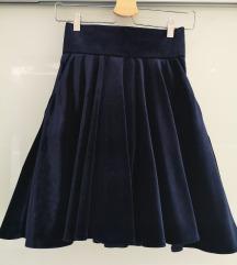 Velvet suknja