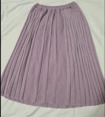 Suknja na falte