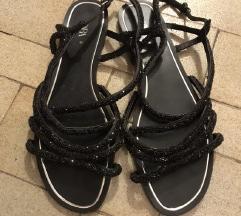Zara sandale sa šljokicama 40