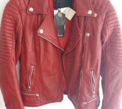 Goosecraft, nova crvena biker kozna jakna