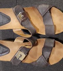 Dr Scholl kožne anatomske papuče