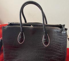 H&M velika crna torba