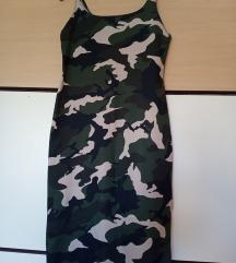 Zara TRF maskirna haljina
