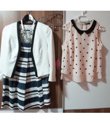AKCIJA: LOT sako, suknja, bluza (pt gratis)