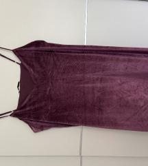 Plišana mini haljina
