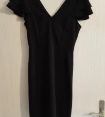 Crna kratka haljinica