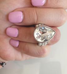 Prsten s pravim kristalima AKCIJA