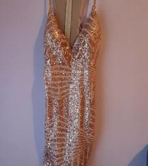 REZ Zlatna haljina