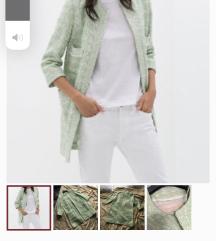 Zara mint kaput Chanel