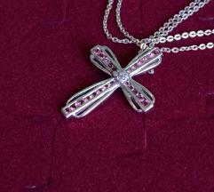 Srebro, dijamanti i topazi, 925