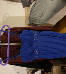 Svečana haljina kraljevsko plave boje