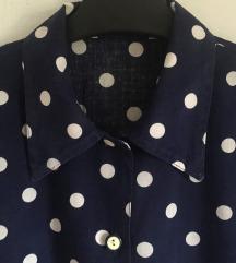 Retro polka dott bluza