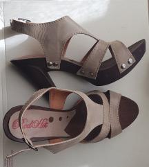 Sandale s visokom petom - nove 39