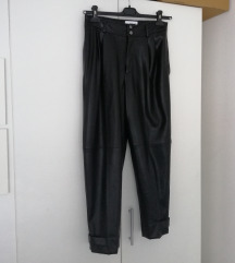 Mango kožne hlače