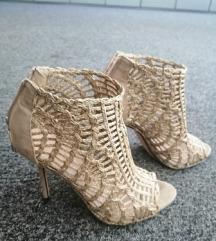 Zara pletene sandale-gležnjače