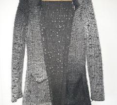 Pletena jakna xs/s
