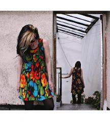 Strechy 90s Floral Dresses