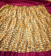 Leopard suknja 42