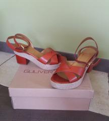 GULIVER kožne sandale - novo