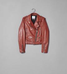 Bershka kozna jakna biker nova s etiketom