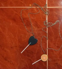 Lančići s privjeskom u obliku lizalice
