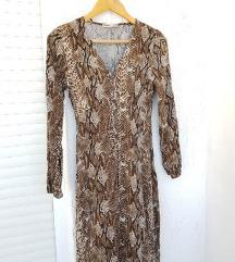 PULL&BEAR midi haljina - životinjski uzorak