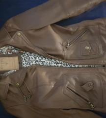 Prodajem Guess kožnu žensku jaknu XS