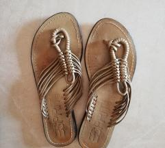 Esprit zlatne kožne sandale, 39