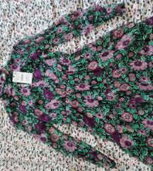 Kratka cvjetna lepršava haljina Zara