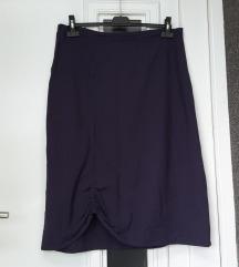 Tamno ljubičasta suknja, XL