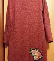 Haljina sa cvjetnom aplikacijom