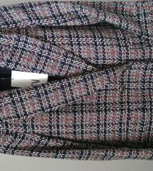 Zara sako blejzer jakna karirani