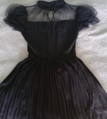 Punk Rave crna haljinica