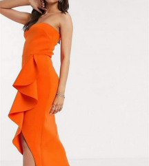 ASOS narančasta haljina
