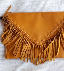Žuta torbica sa resama